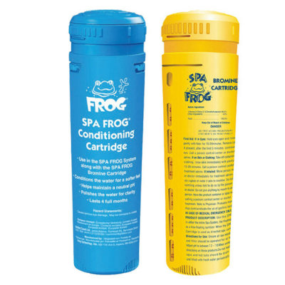 Spa frog bromine cartridges